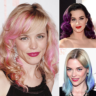 Celebrities With Bright Hair Color
