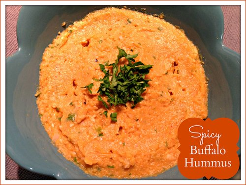 Spicy Buffalo Hummus