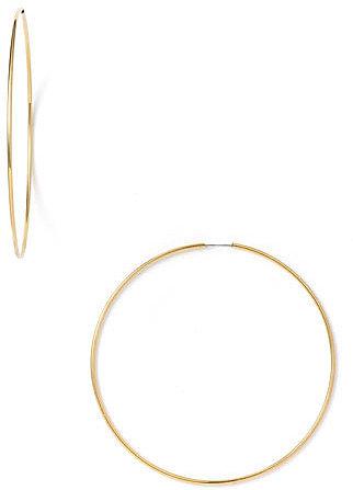 Nordstrom Endless Oversized Hoop Earrings