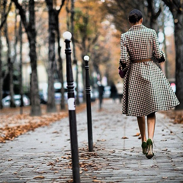Giovanna Battaglia walked away from Paris Fashion Week in chic style. Source: Instagram user bat_gio