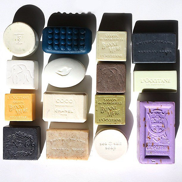 Beauty website Into the Gloss celebrated the beauty of bar soap. Source: Instagram user intothegloss