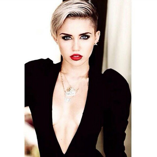 If only we all could look as chic as Miley Cyrus. Source: Instagram user mileycyrus
