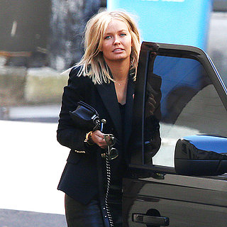 Lara Bingle and Sam Worthington Together in Sydney Pictures