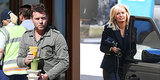 Lara Bingle and Sam Worthington Take Their Reported Relationship to Sydney Streets