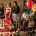 The glee club mourns Finn at his memorial at McKinley High.