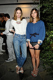 Laura Love and Gia Coppola were chic in denim for the Isabel Marant LA bash.