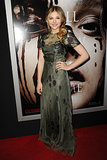 Chloë Moretz might still be playing iconic teen roles like Carrie, but there's nothing juvenile about her fashion taste. The actress picked dark Valentino Spring 2013 dress to premiere the eponymous flick in Hollywood.