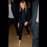 Chloë Moretz thanks Saint Laurent for her dark duds — wouldn't you? Source: Instagram user cmoretz