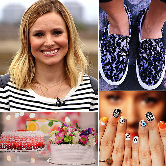 Kristen Bell, Cute Cakes, and Festive DIYs: The Best of POPSUGARTV This Week