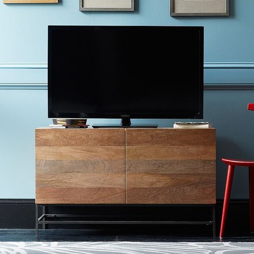 Rustic Storage Media Console – Small