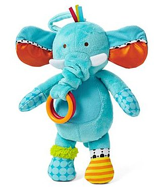 giggleBABY Soothing Sounds Lullaby Elephant ($20)