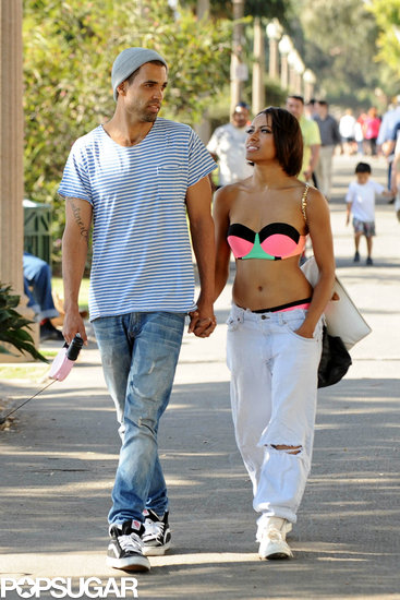Bikini-Clad Kat Graham Shows Beach PDA With Her Shirtless Fiancé