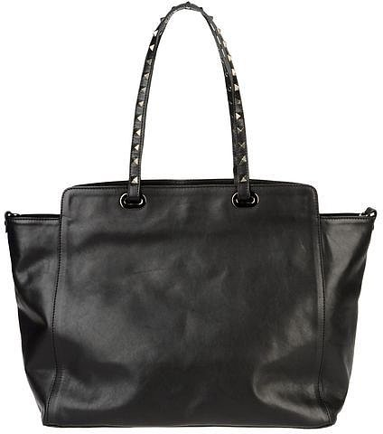 AB ASIA BELLUCCI Large leather bag