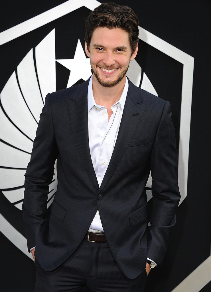 Ben Barnes He may be British, but Barnes does a fabulous American accent and has some amazing cheekbones. He could easily slip into Christian's well-made shoes.