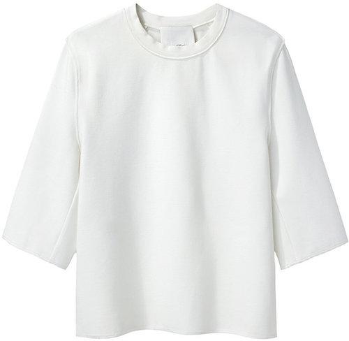3.1 Phillip Lim / Cropped Boxy T-Shirt