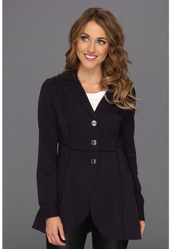NIC+ZOE - Seamed Riding Jacket (Night Shade) - Apparel