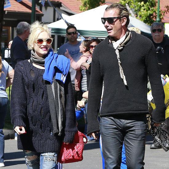 Gwen Stefani and Gavin Rossdale With Tony Kanal in Arrowhead