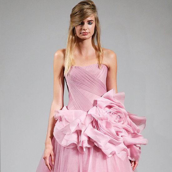 Coloured Wedding Dress Ideas From Vera Wang