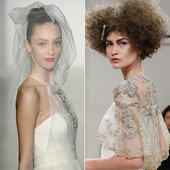 Gorgeous Wedding Hair and Makeup Ideas Fresh From the Runway