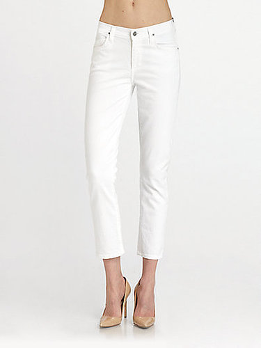 Citizens of Humanity Carlton Retro High-Rise Jeans/White