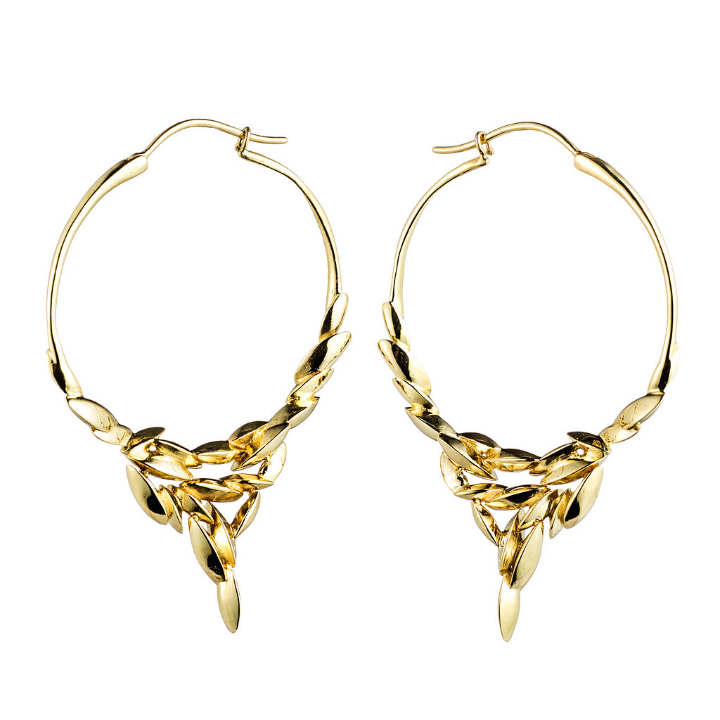 Alexis Bittar Fine Silver and Gold Marquis Cascade Hoop Earrings in 18k Gold ($3,495) Photo courtesy of Alexis Bittar