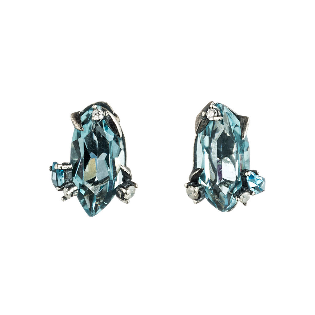 Alexis Bittar Fine Midnight Marquis Stud Earrings ($395) Photo courtesy of Alexis Bittar