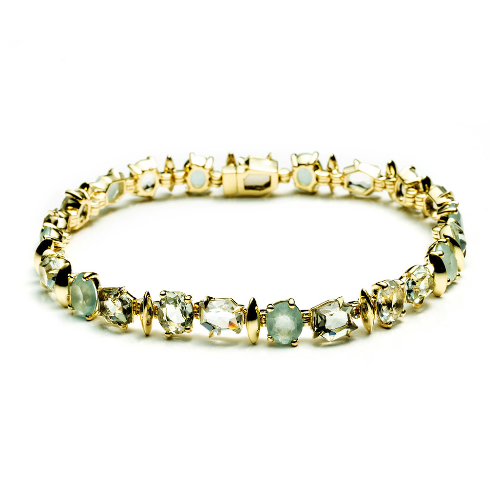Alexis Bittar Fine Water Marquis Delicate Tennis Bracelet ($4,495) Photo courtesy of Alexis Bittar