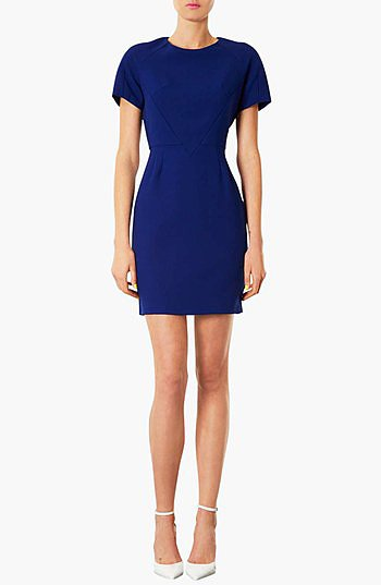 Simple, but simply fabulous — all you'll need with this Topshop Harper sheath dress ($100) is a great pair of heels.