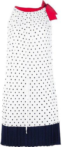 I'm Isola Marras pleated shift dress