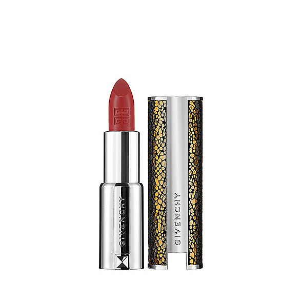 Encased in genuine leather, Le Rouge Intense Color Sensuously Matte Lipstick ($36) from Givenchy is more like an accessory than a lipstick.