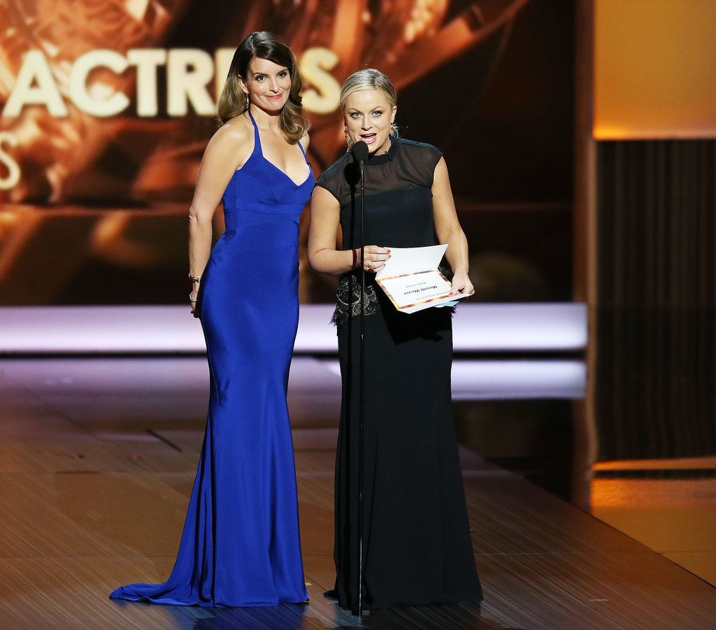 Tina Fey and Amy Poehler reunited in September 2013 when they presented at the Emmy Awards together.