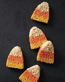 Candy Corn Rice Krispies Treats