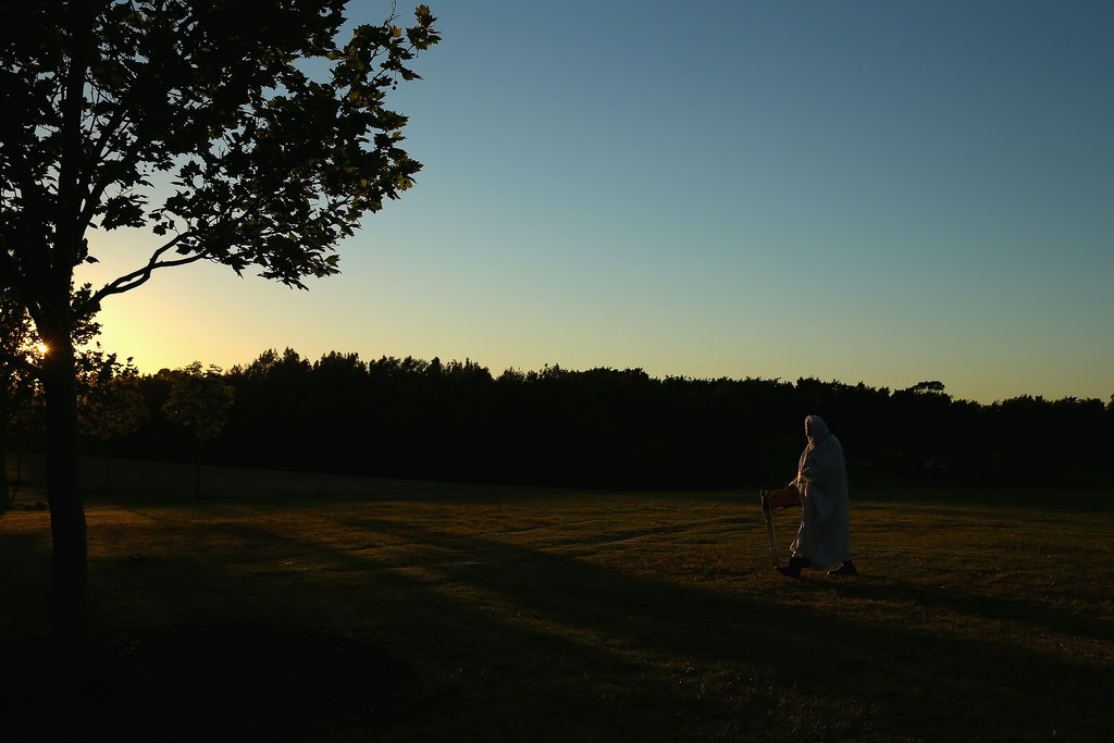 In Sydney, Australia, Muslims arrived in Bicentennial Park for Eid al-Adha prayers.