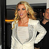 Britney Spears Riding Double-Decker Bus in London