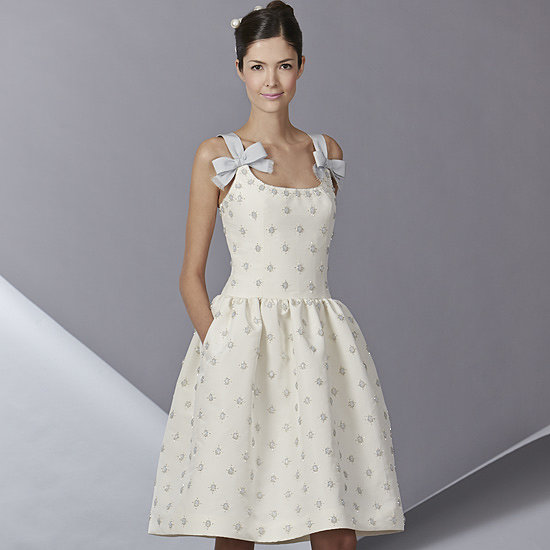 Wedding Dresses: Go Short And Sweet With Carolina Herrera