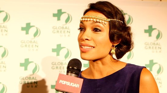 Rosario Dawson on Why Leo and Nude Beaches Inspire Her Eco-Activism!