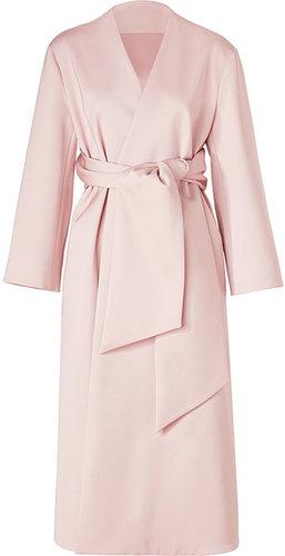 Jil Sander Bonbon Pink Belted Coat