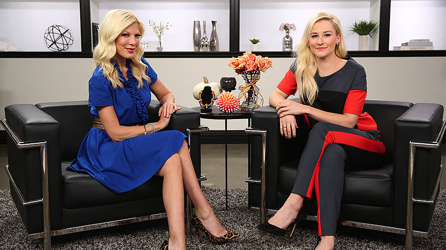 Tori Spelling Talks About Reuniting With a 90210 Costar, Reality Show Life, and DIY Fun
