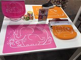 Modern Twist's new food-grade silicone placemats have the most precious designs.