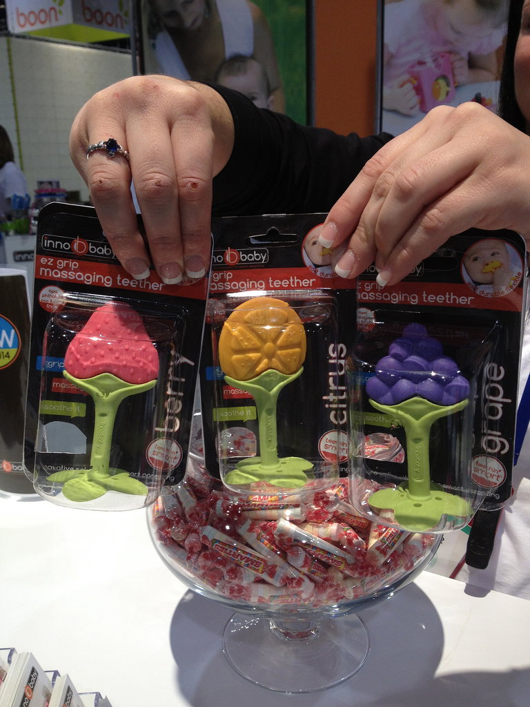 Innobaby is expanding its popular teething line to include fruit teethers.