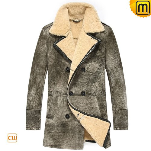 Mens Fur Lined Coat CW878091