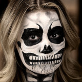 Easy Halloween Makeup: Skeleton Tutorial; Beauty Video