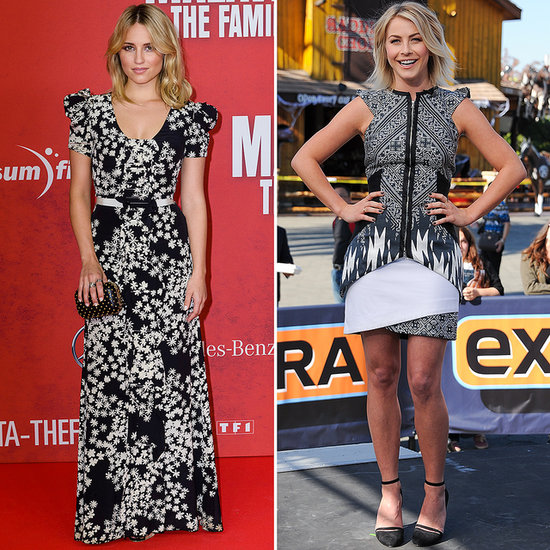 Dianna and Julianne Take the Black and White Trend Straight Into Fall