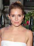 Here's an effortlessly chic bun, courtesy of Sienna Miller. We love how you can see bits of her updo from the front without it being a full-on topknot.