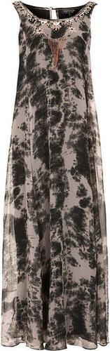 Embellished Tie Dye Maxi Dress
