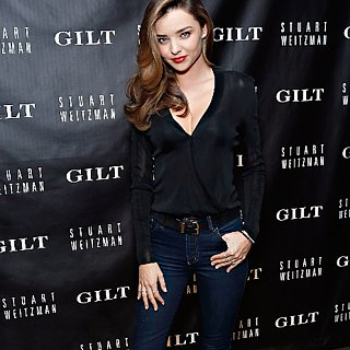 Miranda Kerr Outfit at Stuart Weitzman 5050 Party