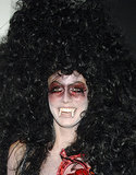 Big hair and big fangs made up Heidi's take on Vampira in 2005.