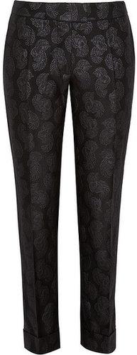 Stella McCartney Jacquard straight-leg pants