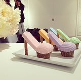 Have you ever had a stiletto cupcake before?!