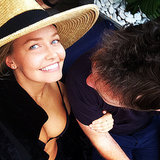 Sam Worthington Posts Lara Bingle Picture on Instagram
